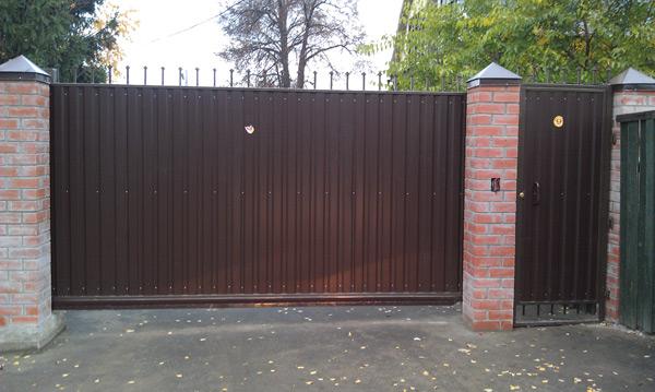 Откатные ворота в щелковском районе купить ворота bestway